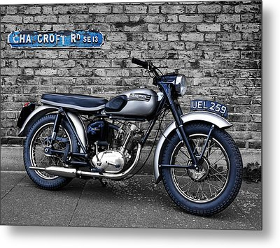 Triumph Tiger Cub Metal Print by Mark Rogan