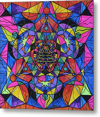Triune Transformation Metal Print by Teal Eye  Print Store