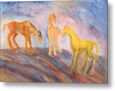 Are You Still Remembering Us Or Have You Forgotten All About It Metal Print by Hilde Widerberg