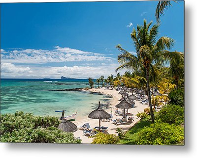 Tropical Beach II. Mauritius Metal Print by Jenny Rainbow
