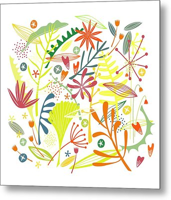 Tropical Metal Print by Nic Squirrell