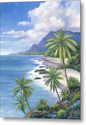 Tropical Paradise 2 Metal Print by John Zaccheo
