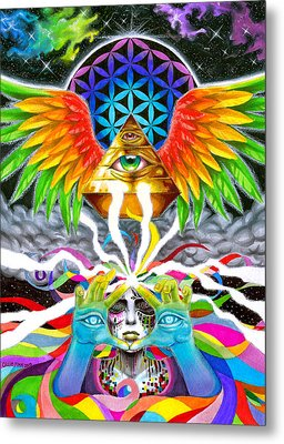 Truth Metal Print by Callie Fink