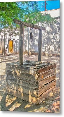 Tucson Arizona Well Metal Print by Gregory Dyer
