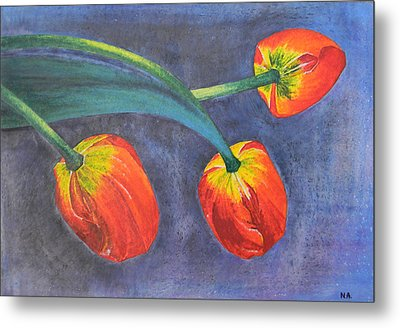Tulips Metal Print by Adel Nemeth