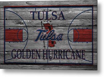 Tulsa Golden Hurricane Metal Print by Joe Hamilton
