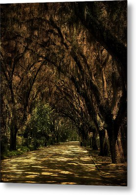 Tunnel   Metal Print by Mario Celzner