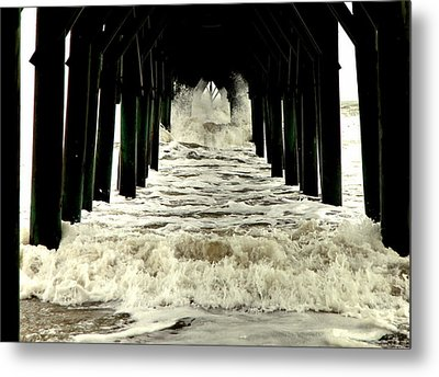 Tunnel Vision Metal Print by Karen Wiles