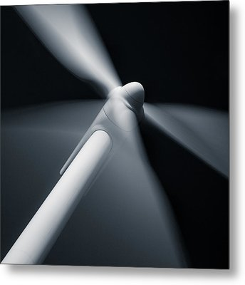 Wind Turbine Metal Print by Dave Bowman