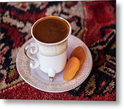 Turkey Turkish Coffee, Apricots Metal Print by Emily Wilson