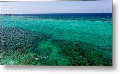 Turks Turquoise Metal Print by Chad Dutson