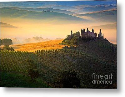 Tuscan Dawn Metal Print by Inge Johnsson