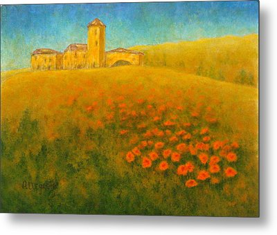 Tuscan Gold 1 Metal Print by Pamela Allegretto