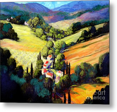 Tuscany Metal Print by Michael Swanson