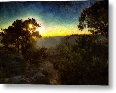 Twilight At The Canyon Metal Print by Ellen Heaverlo