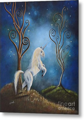 Twilight By Shawna Erback Metal Print by Shawna Erback
