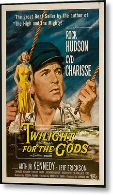 Twilight Of The Gods 1958 Metal Print by Mountain Dreams