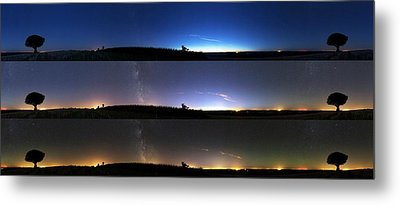 Twilight Sequence Metal Print by Laurent Laveder