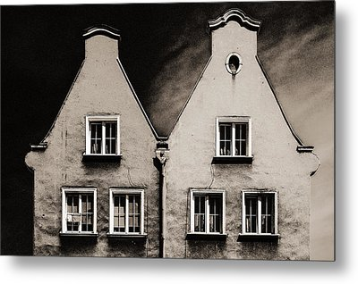 Twin Houses Metal Print by Arkady Kunysz