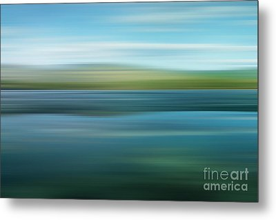 Twin Lakes Metal Print by Priska Wettstein
