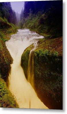 Twister Falls Metal Print by Jeff Swan