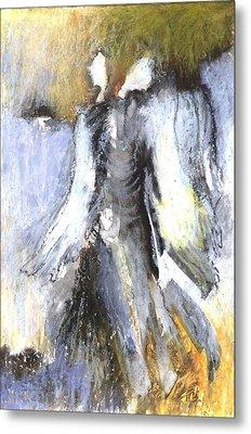 Two Angels Metal Print by Alicja Coe