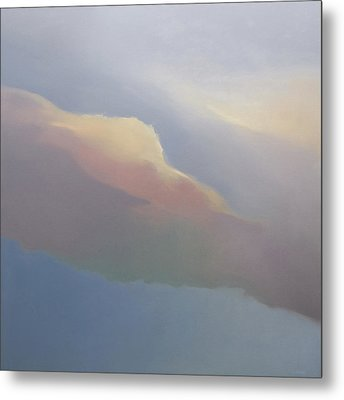 Two Clouds Metal Print by Cap Pannell