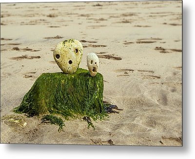 Two Faces Metal Print by Svetlana Sewell