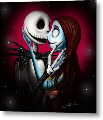Two In One Heart Metal Print by Alessandro Della Pietra