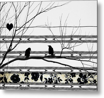 Two Is Better Metal Print by Gothicrow Images