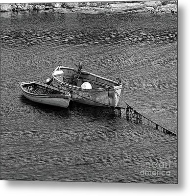 Two Old Rowboats Metal Print by Kathleen Struckle