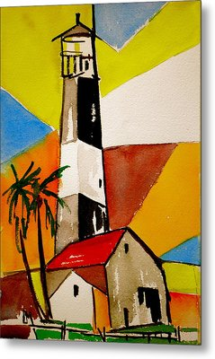 Tybee Lighthouse Metal Print by Pete Maier