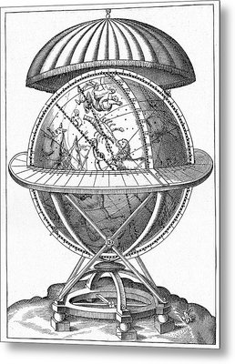 Tycho's Great Brass Globe Metal Print by Cci Archives