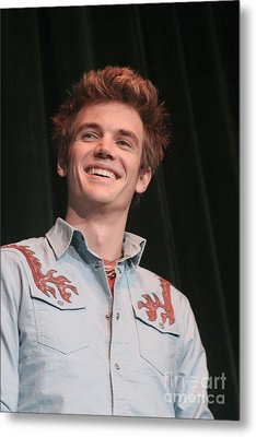 Tyler Hilton Metal Print by Front Row  Photographs