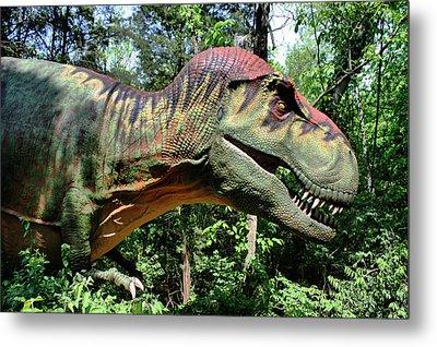 Tyrannosaurus Rex  T. Rex Metal Print by Kristin Elmquist