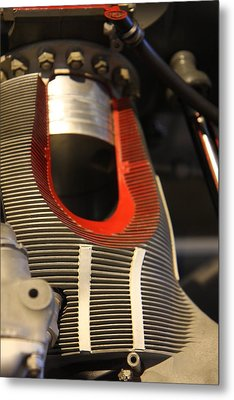 Udvar-hazy Center - Smithsonian National Air And Space Museum Annex - 121212 Metal Print by DC Photographer