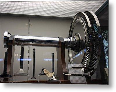 Udvar-hazy Center - Smithsonian National Air And Space Museum Annex - 121214 Metal Print by DC Photographer