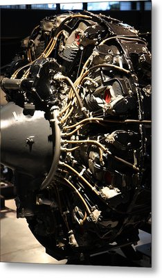 Udvar-hazy Center - Smithsonian National Air And Space Museum Annex - 121215 Metal Print by DC Photographer