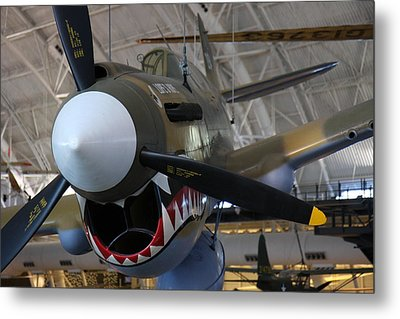 Udvar-hazy Center - Smithsonian National Air And Space Museum Annex - 12124 Metal Print by DC Photographer
