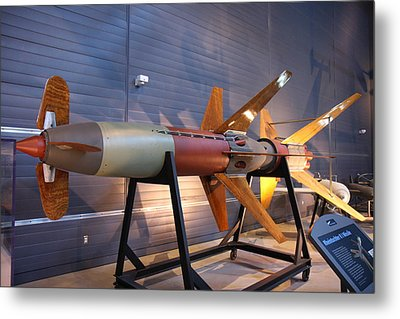 Udvar-hazy Center - Smithsonian National Air And Space Museum Annex - 121260 Metal Print by DC Photographer