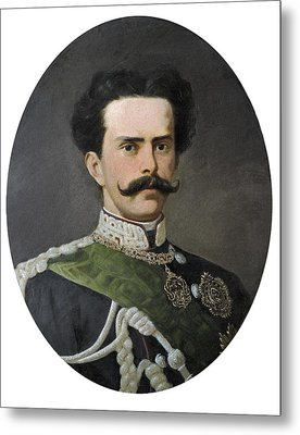 Umberto I Of Italy 1844-1900. King Metal Print by Everett
