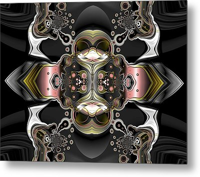 Uncertain Committments Metal Print by Claude McCoy