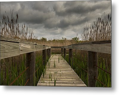 Under The Boardwalk Metal Print by Jonathan Davison