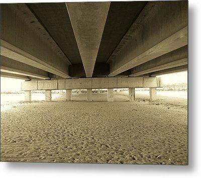 Under The Bridge Metal Print by Joanne Askew