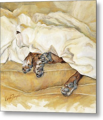 Under The Covers Metal Print by Leisa Temple