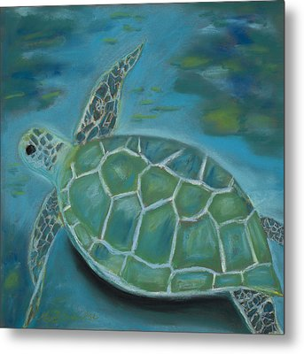 Under The Sea Metal Print by Mary Benke