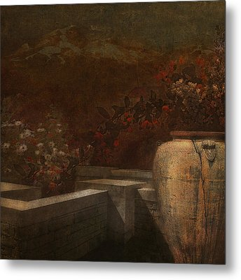 Under The Surface Of Things Metal Print by Jeff Burgess