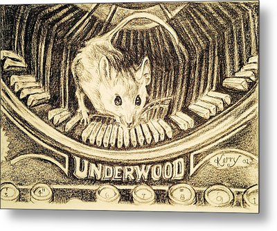 Underwood Metal Print by Kerry Stothers