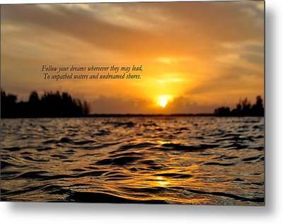 Undreamed Shores Metal Print by Dennis Stanton