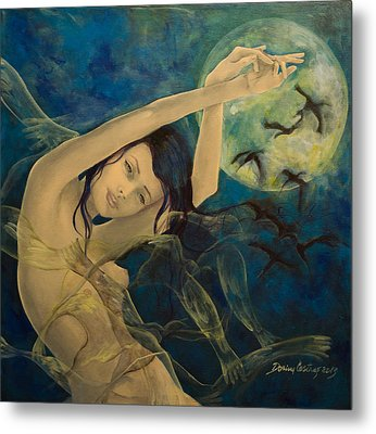 Unfinished Song Metal Print by Dorina  Costras